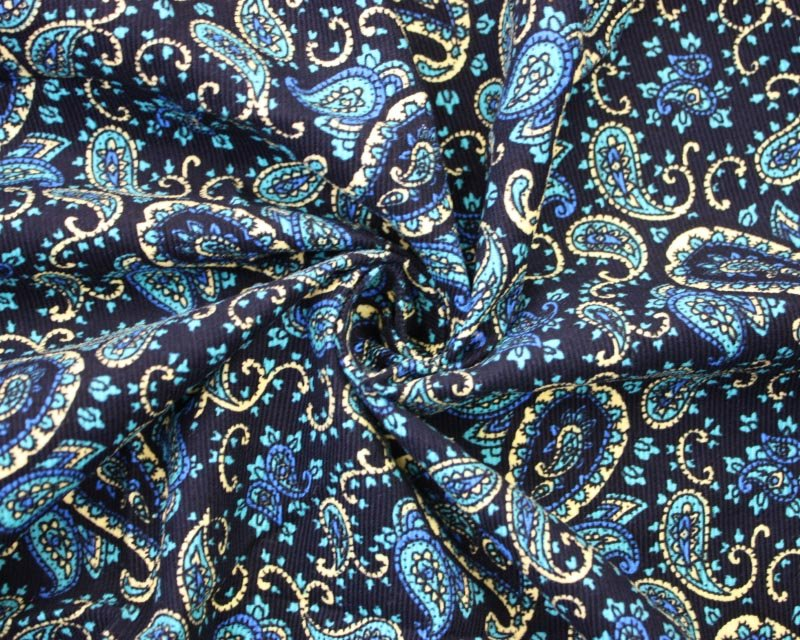 Ditsy Paisley Needlecord