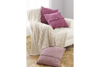 King Cole Cushion and Throw Pattern 5660