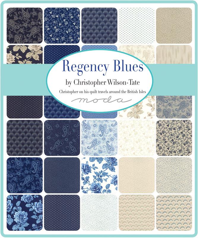 Moda Regency Blues by Christopher Wilson-Tate