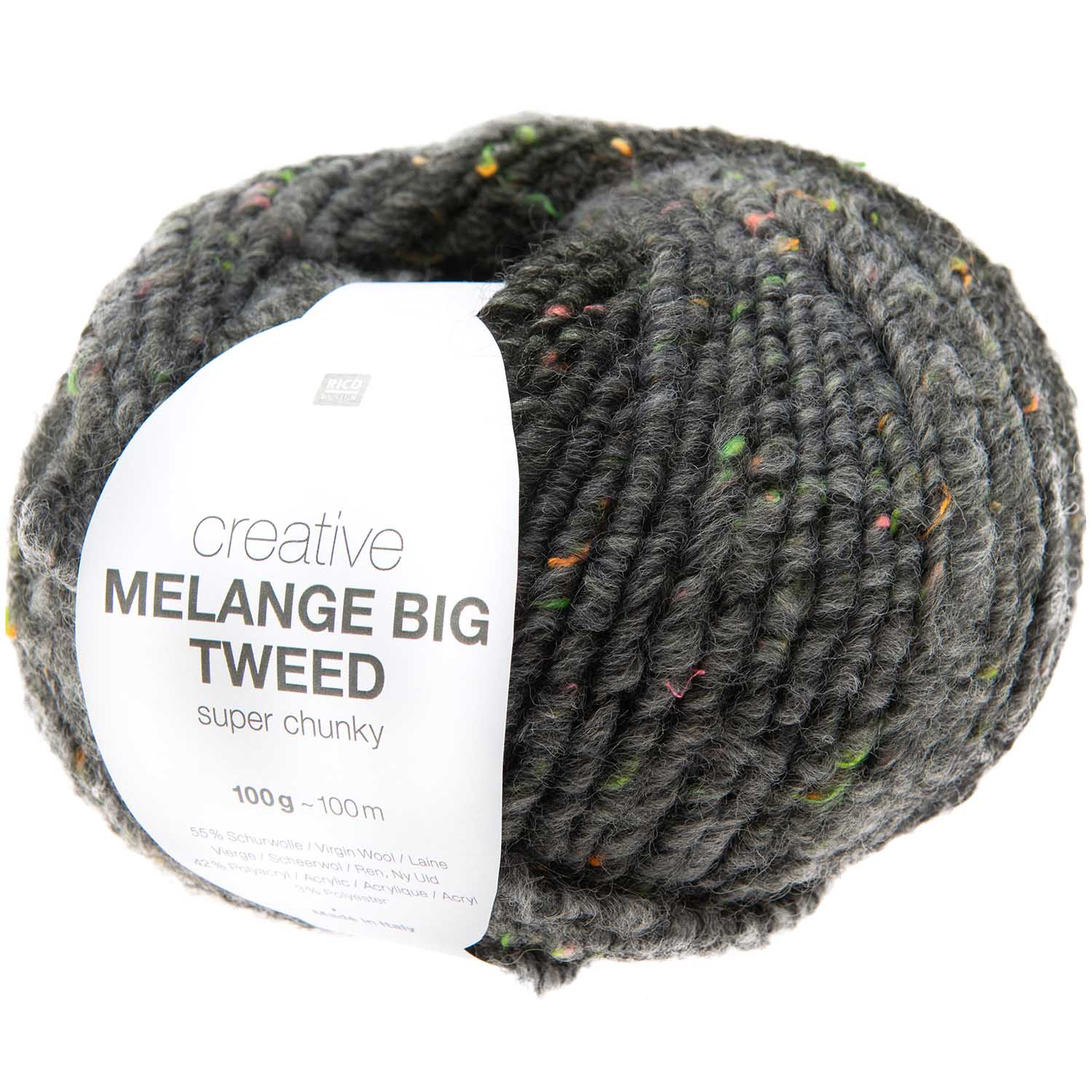 Rico Creative Melange Big Tweed Super Chunky