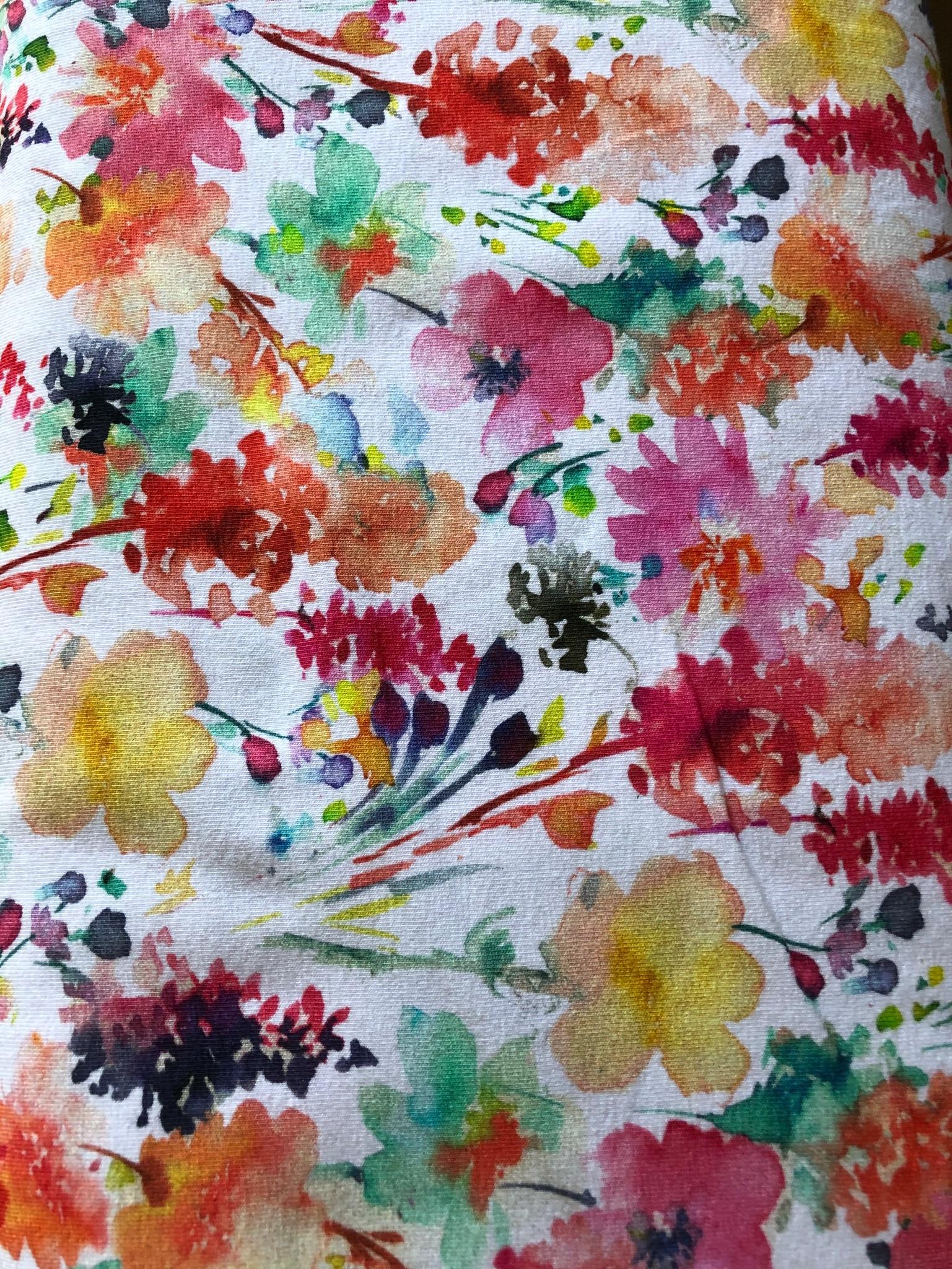 Cotton Jersey Field Bouquet