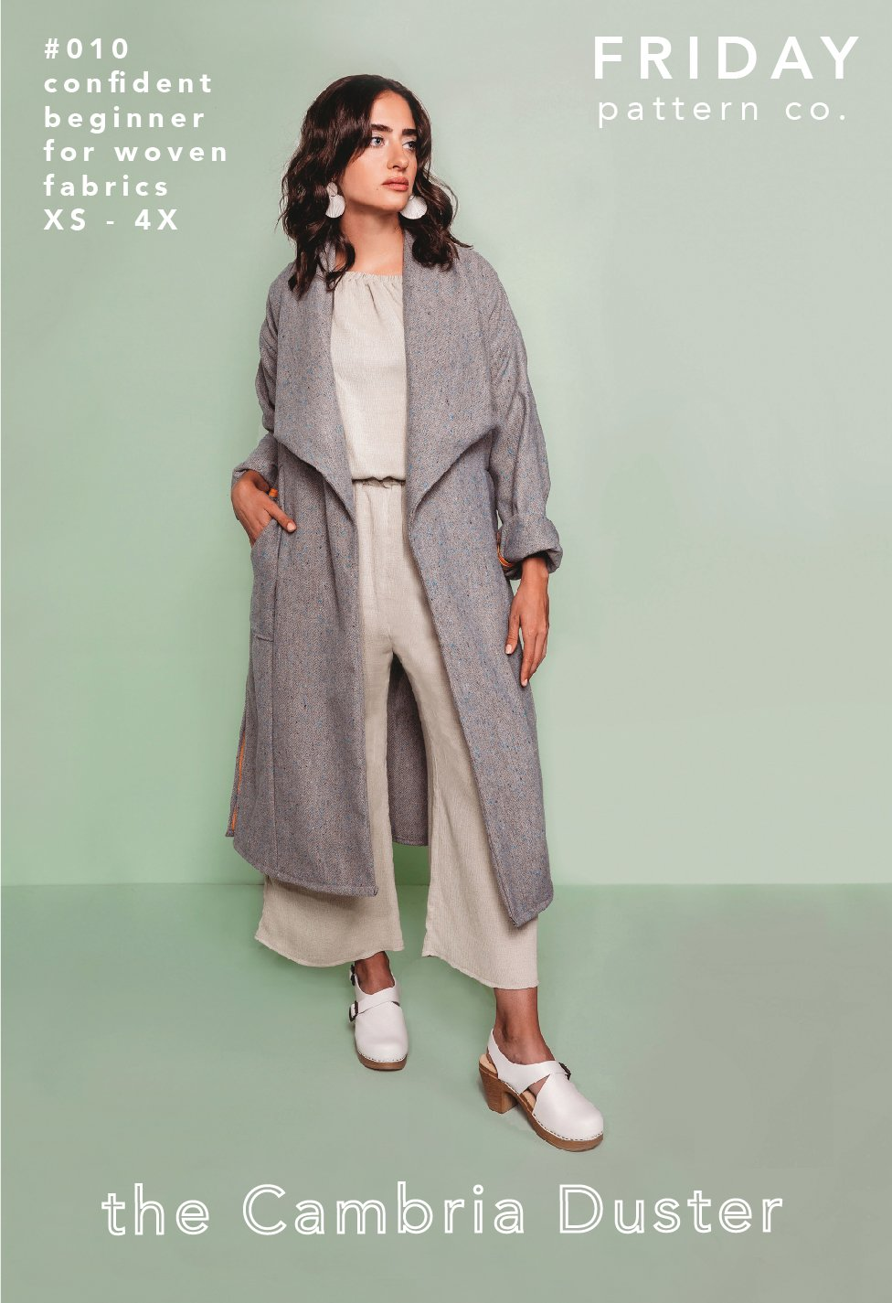 Friday Pattern Company The Cambria Duster