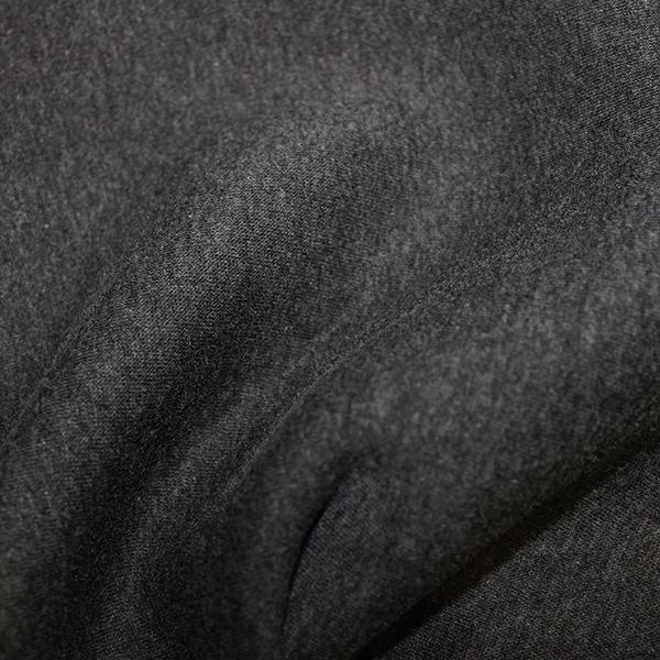 Melange sweatshirt jersey fleece back