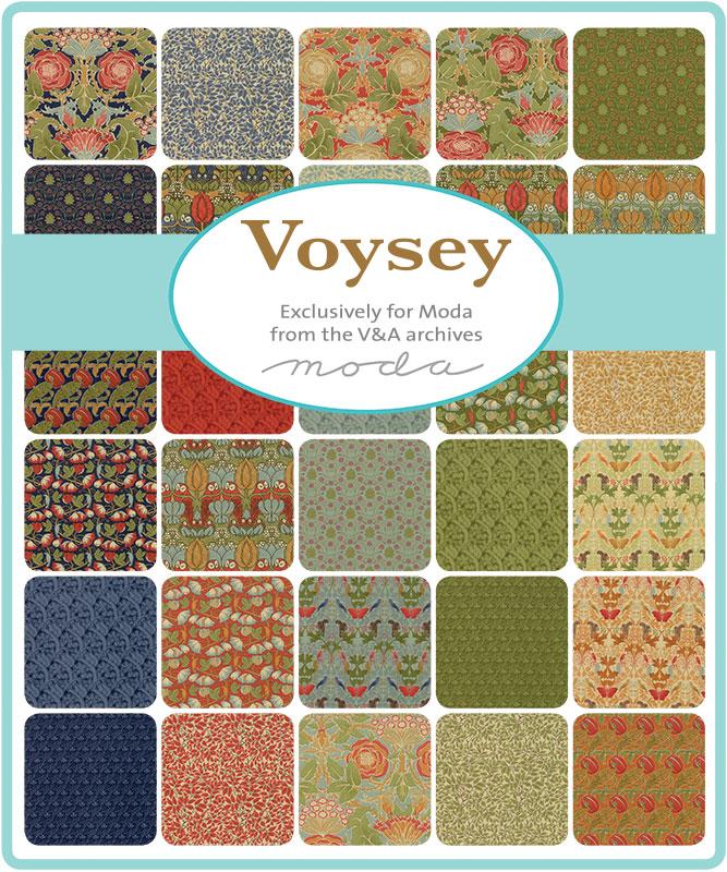 Moda Voysey 2018 collection by V&A