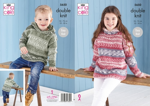 Fjord Dk Kids Sweater and Hoodie Pattern 5650