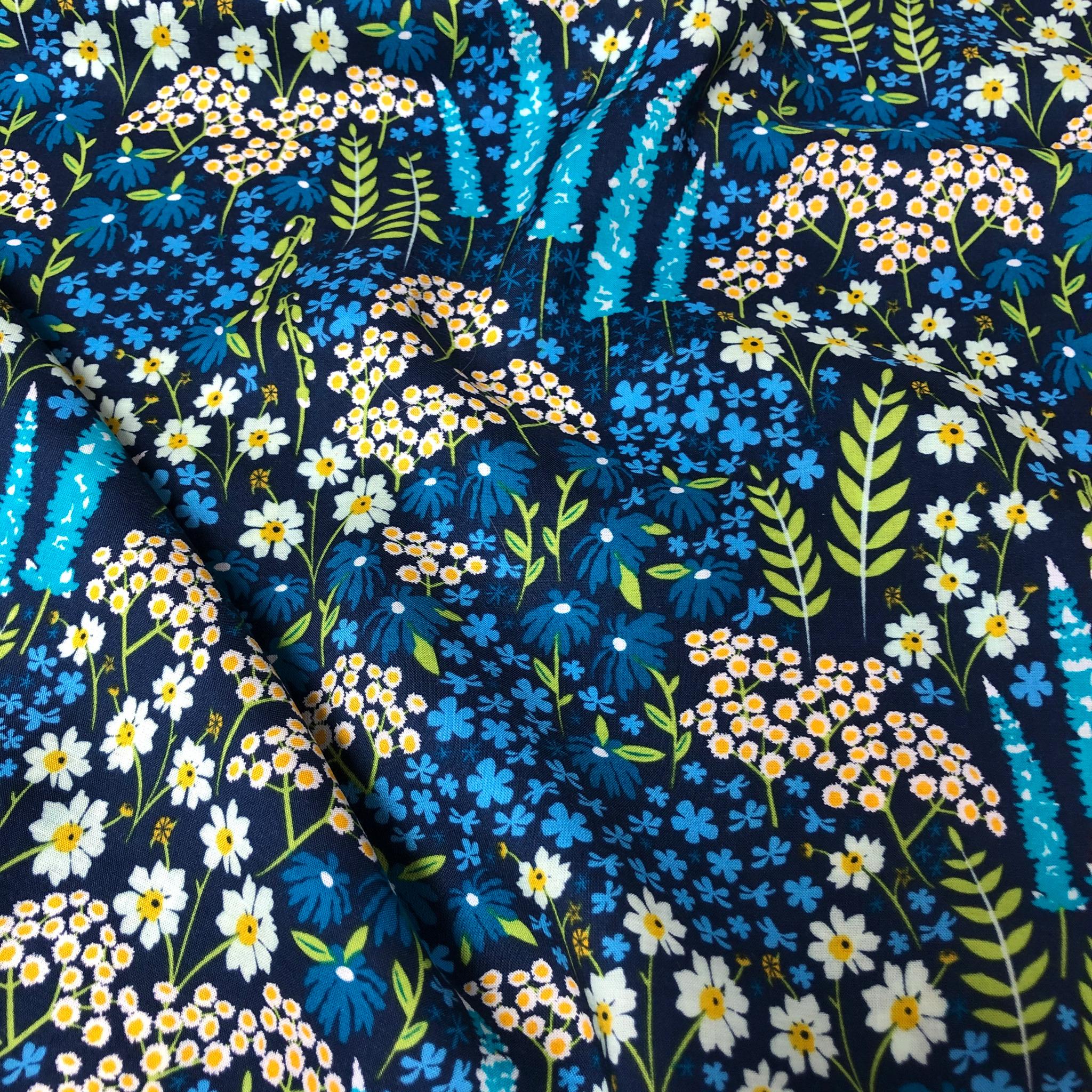 Blue Bank Flora Rayon