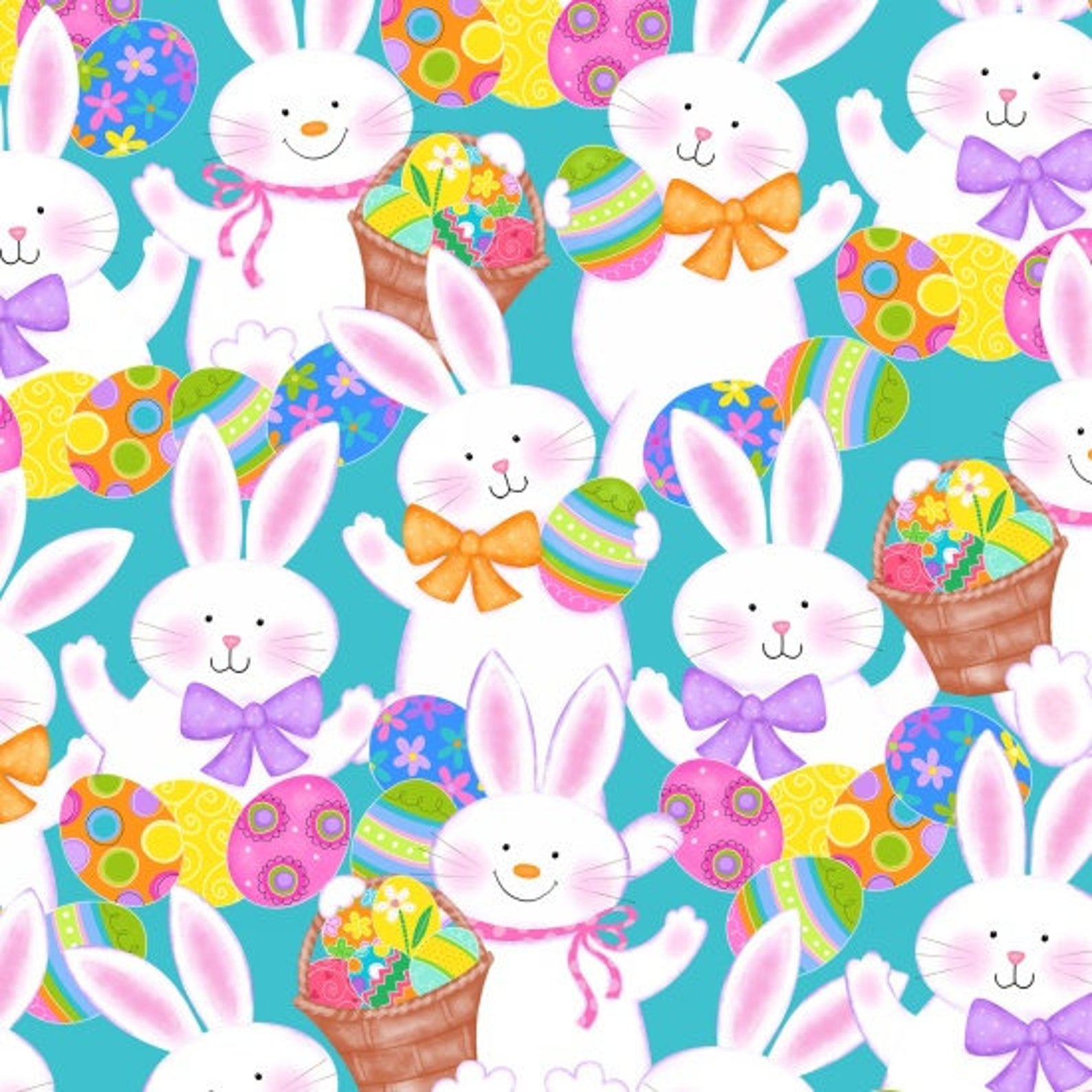 Easter Bunny fabric
