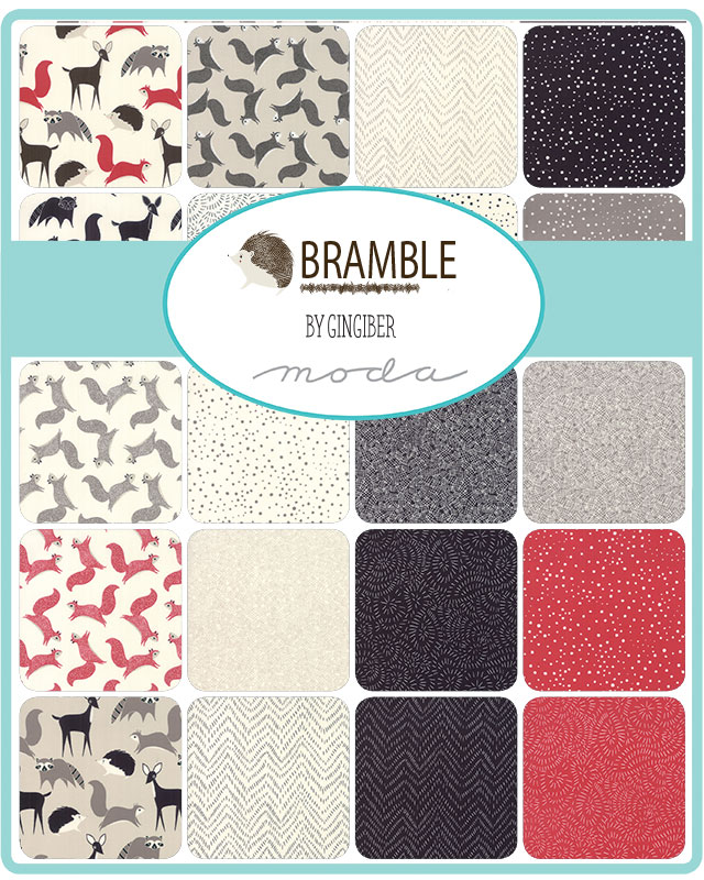 Moda Bramble Collection by Gingiber