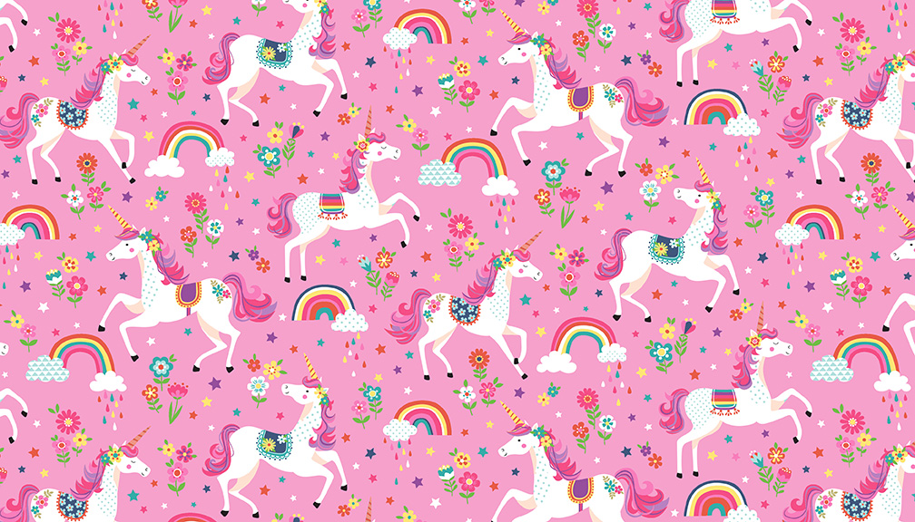 Daydream Unicorns Pink