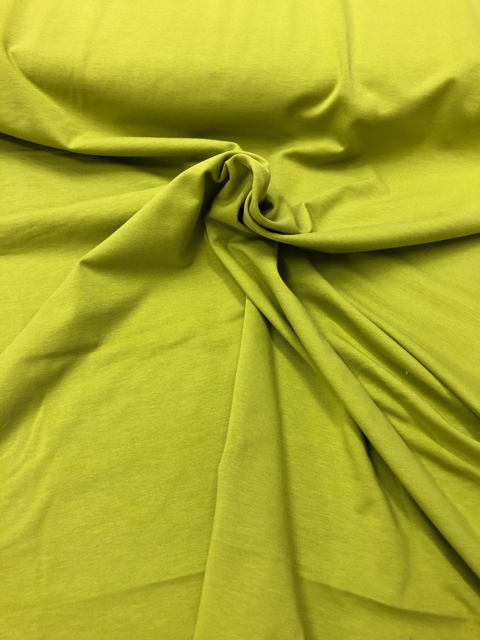 Kiwi organic cotton jersey