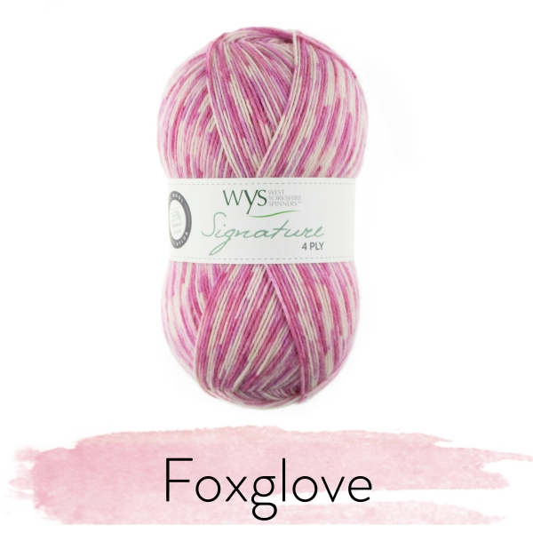 WYS Florist Collection 4ply Sock