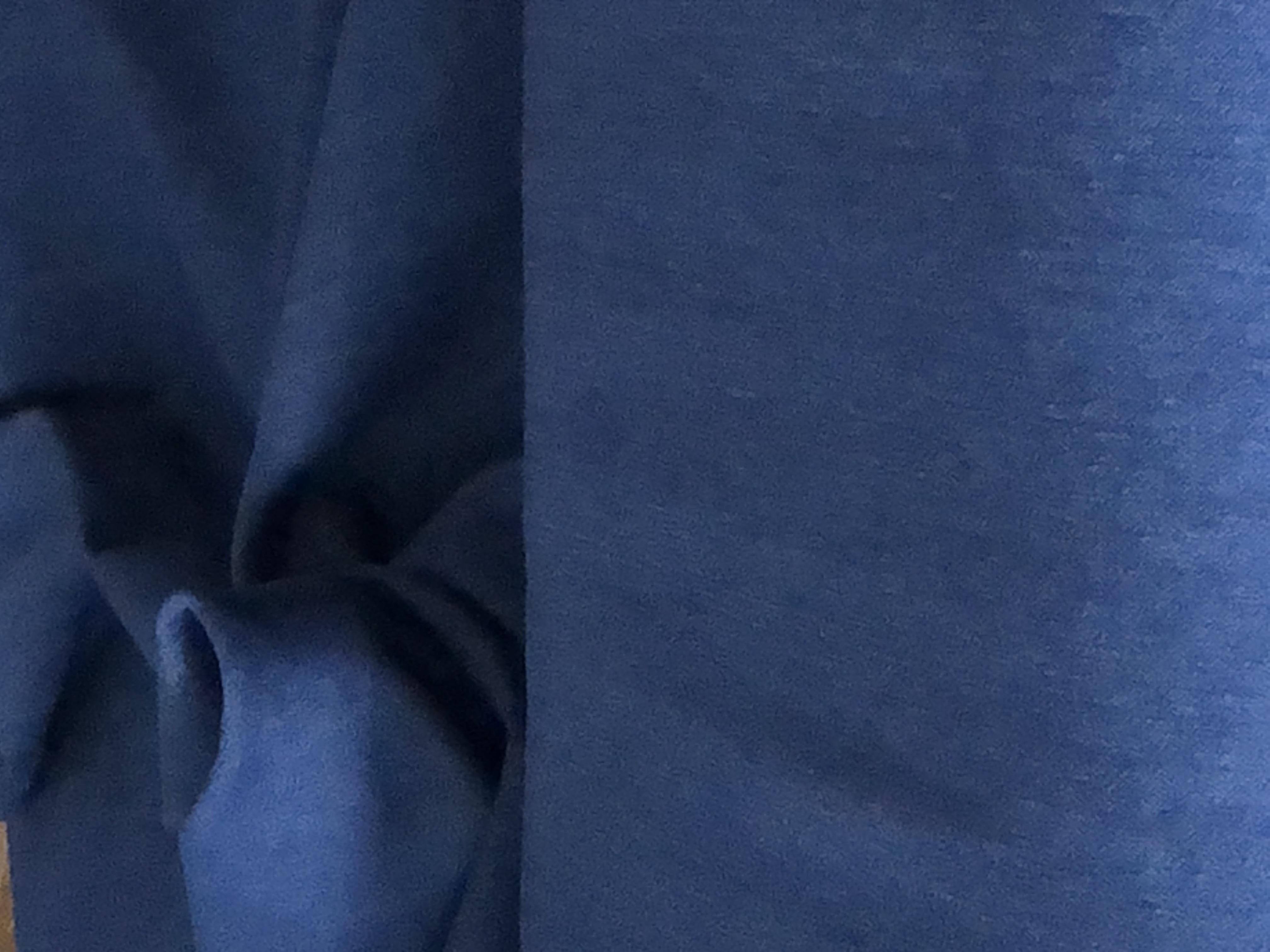 Stretch Denim - Med Blue