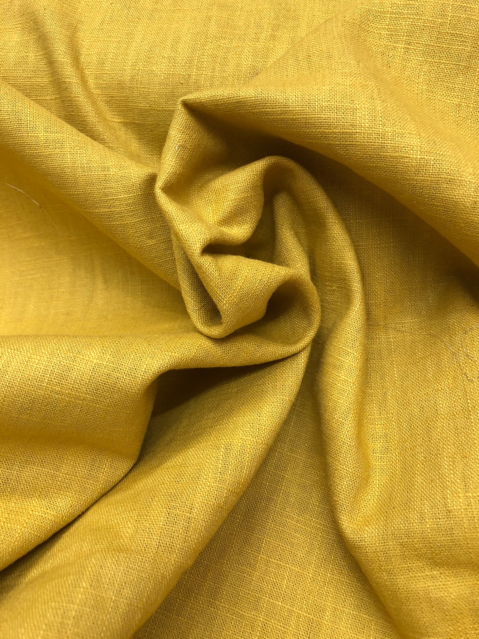Ochre Linen enzyme washed