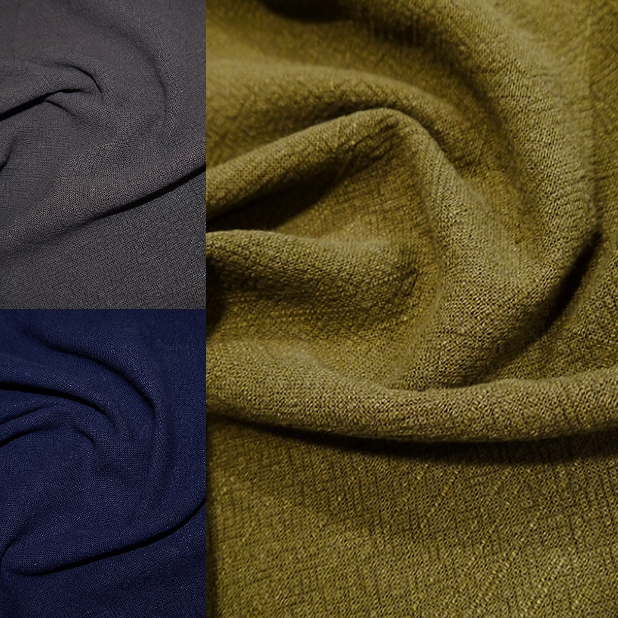 Stonewashed Linen - various colours