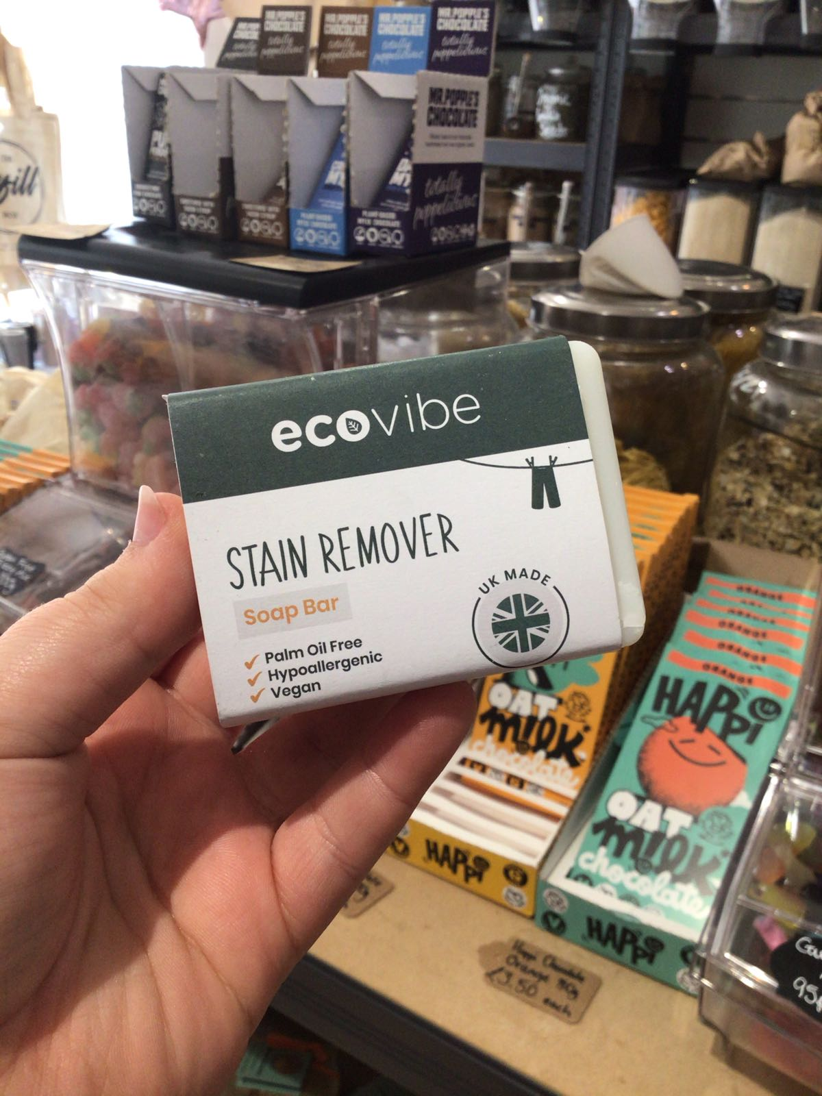 Organic EcoVibe Stain Remover Soap