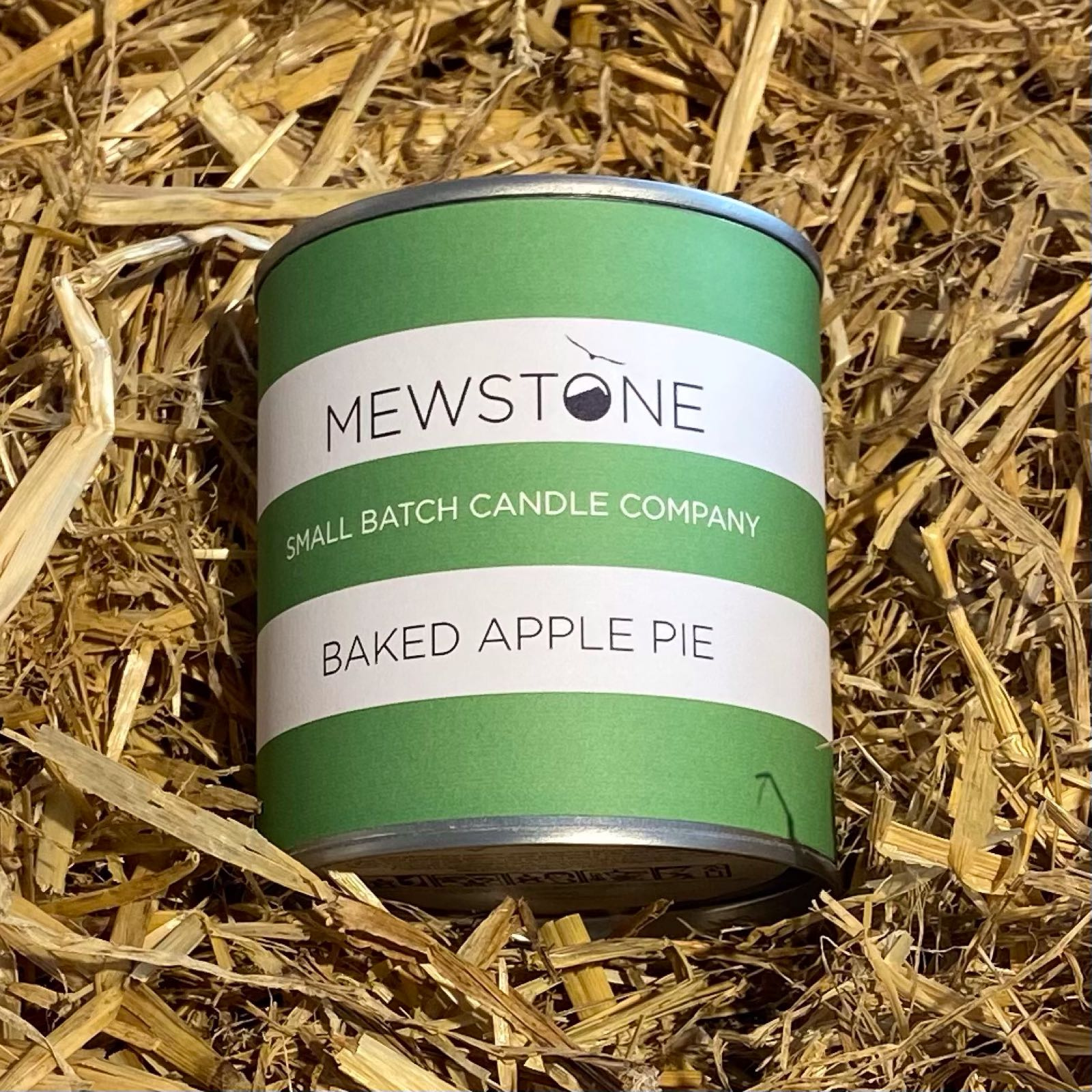 Baked Apple Pie Paint Tin Candle