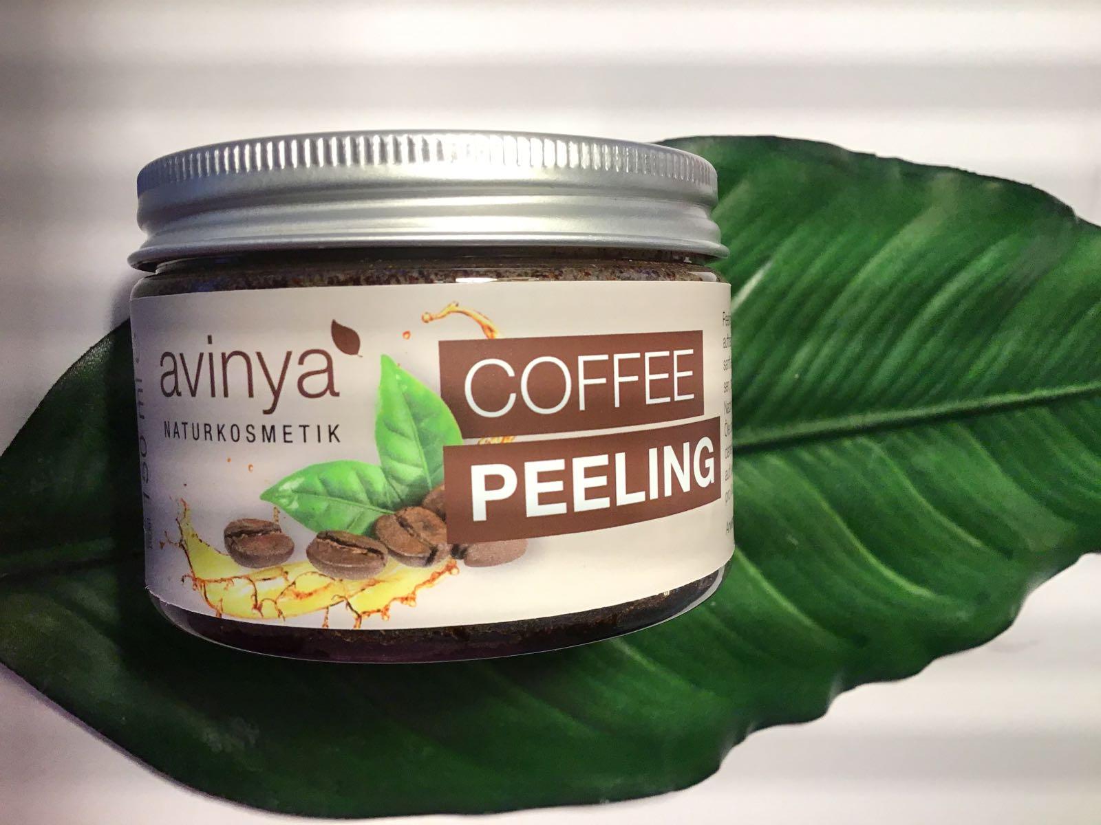 Coffee Körperpeeling mit Sheabutter  150ml
