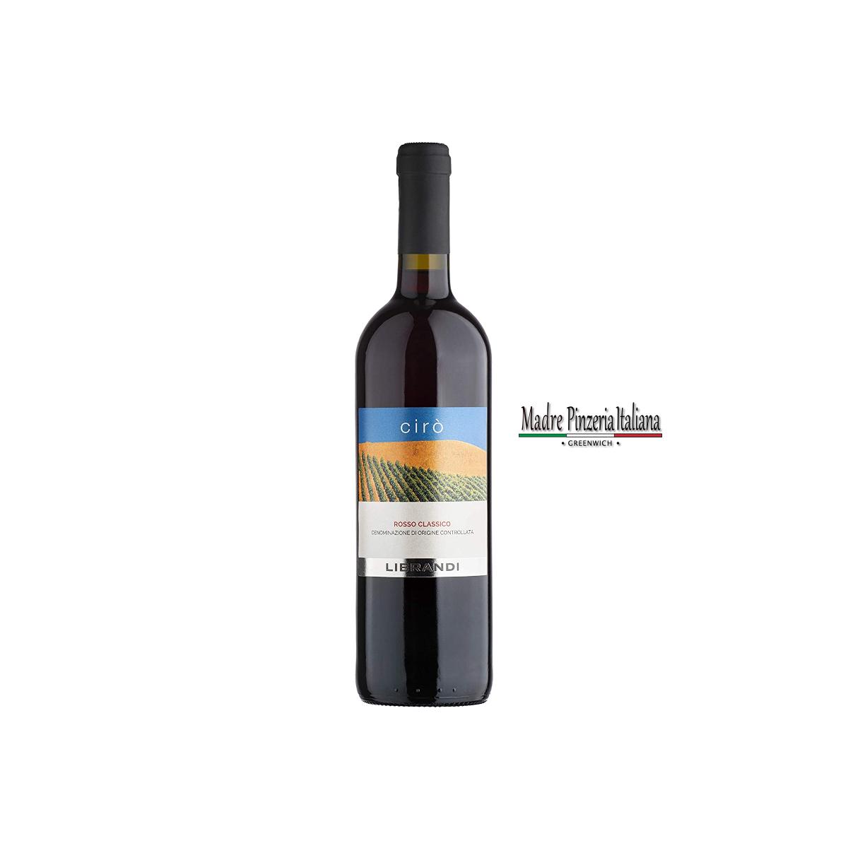 Wine Red CIRO' Classico DOC