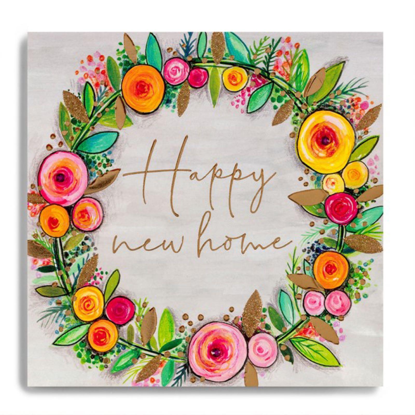 Janie Wilson New Home Card