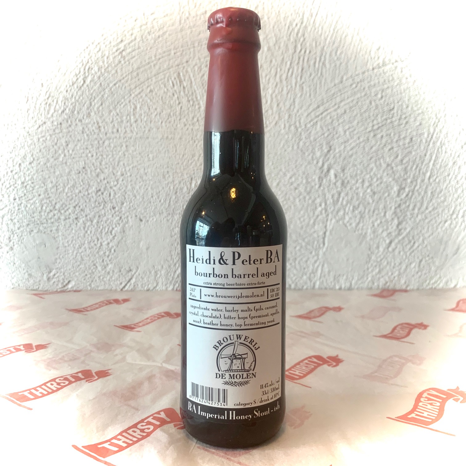 De Molen | Heidi & Peter BA | Bourbon Barrel Aged Imperial Stout 11.4% 330ml