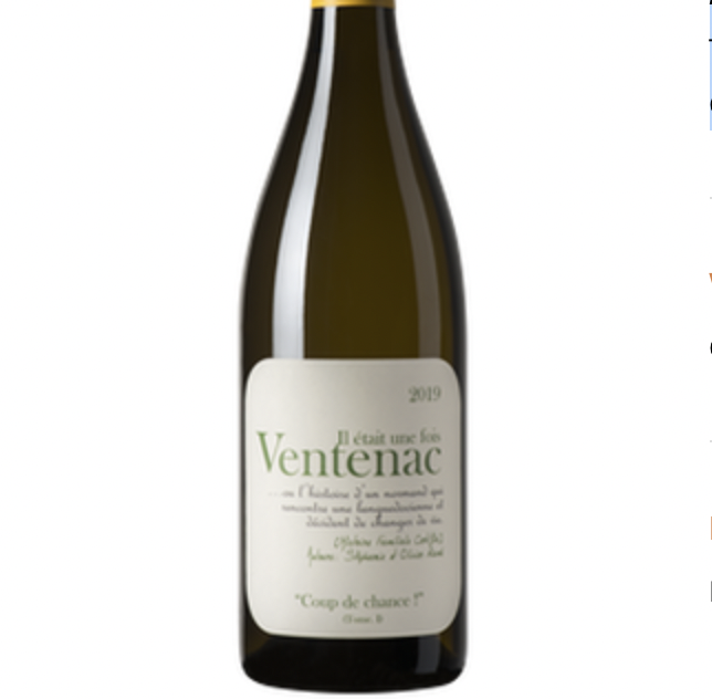 Maison Ventenac 'Tete en L'Air' Chardonnay 2019 |White Wine|France|