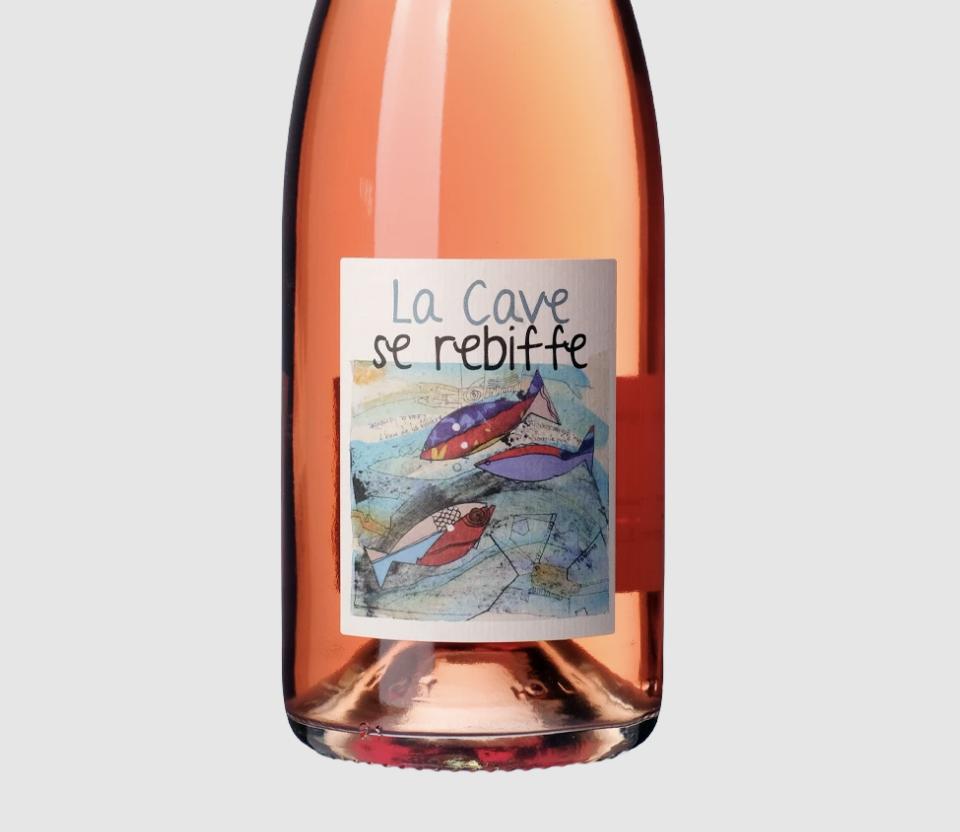 Frantz Saumon Pet Nat Rose Rebiffe   Sparkling   France 