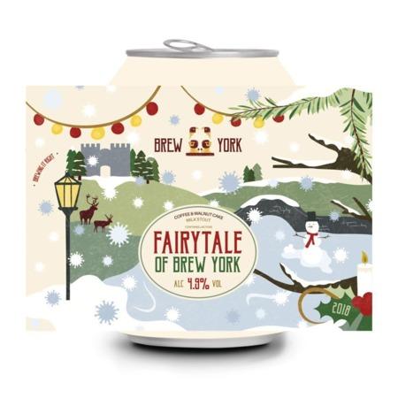 Brew York | Fairytale Of Brew York | Peanut, Pecan, Maple & Vanilla Milk Stout 4.9% 440ml