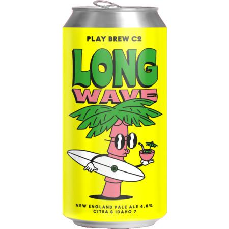 Play Brew Co. | Long Wave | Citra & Idaho-7 New England Pale 4.8% 440ml