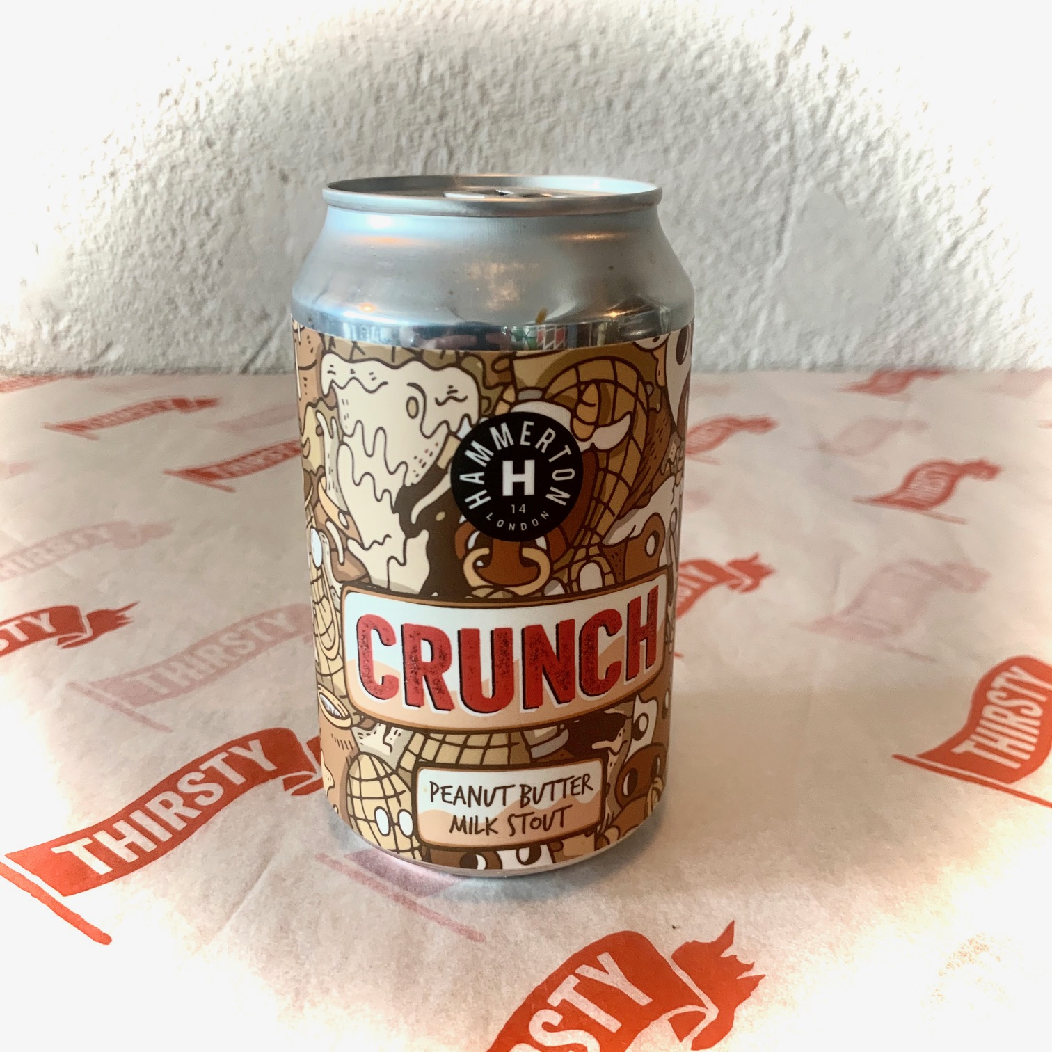 Hammerton | Crunch | Peanut Butter Milk Stout 5.4% 330ml