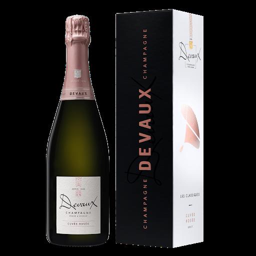 Devaux Cuvée Rosé Champagne