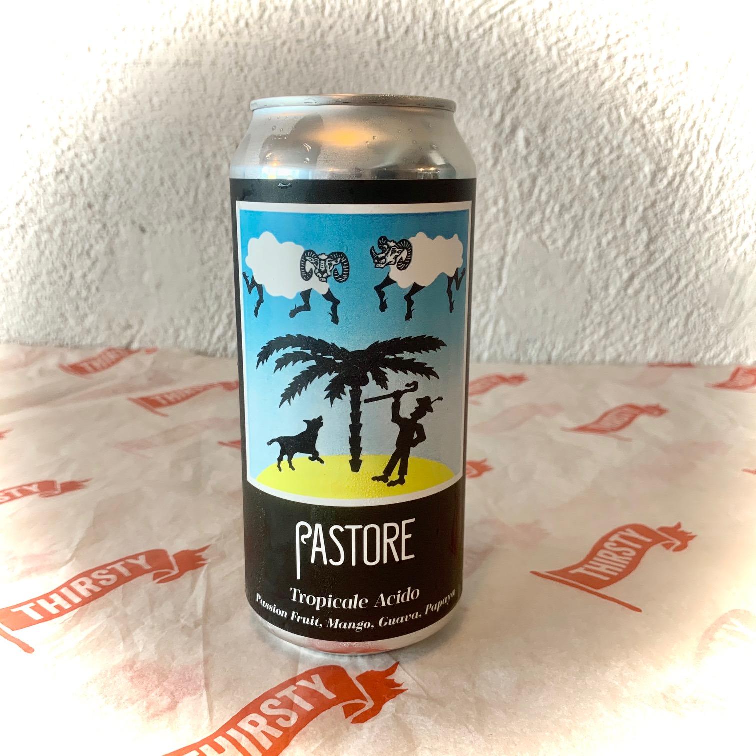 Pastore | Tropicale Acido | Passionfruit, Mango, Guava & Papaya Waterbeach Weisse 7% 440ml