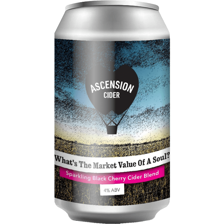 Ascension | What's The Market Value Of A Soul | Cherry Cider 4% 330ml