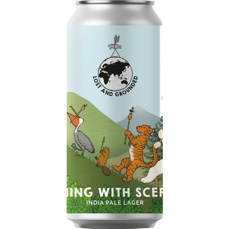 Lost & Grounded | Running with Sceptres | India Pale Lager 5.2% 440ml