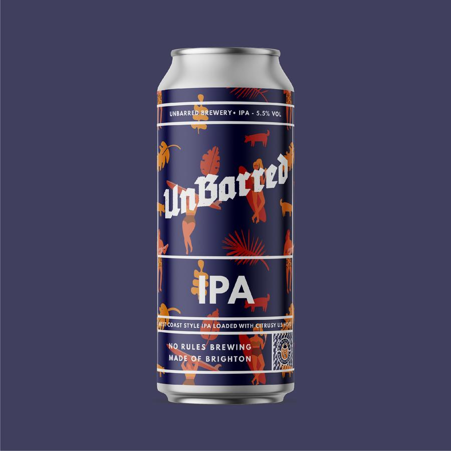 Unbarred | IPA | 5.5% 440ml