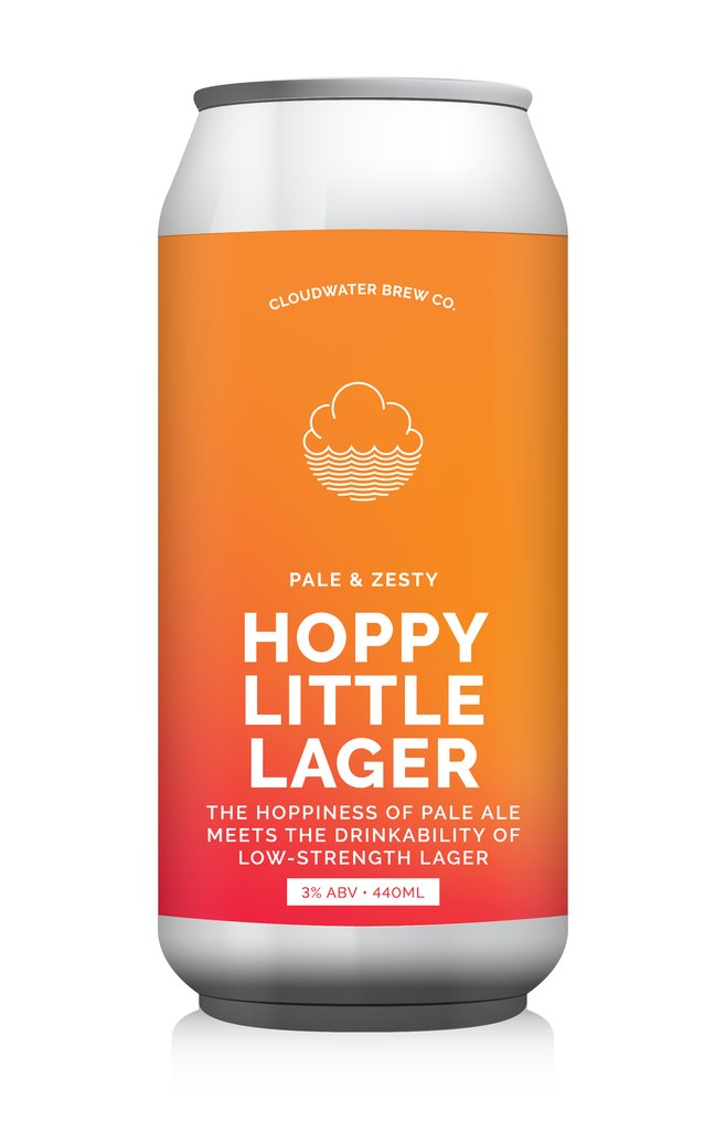 Cloudwater | Hoppy Little Lager | 3% 440ml