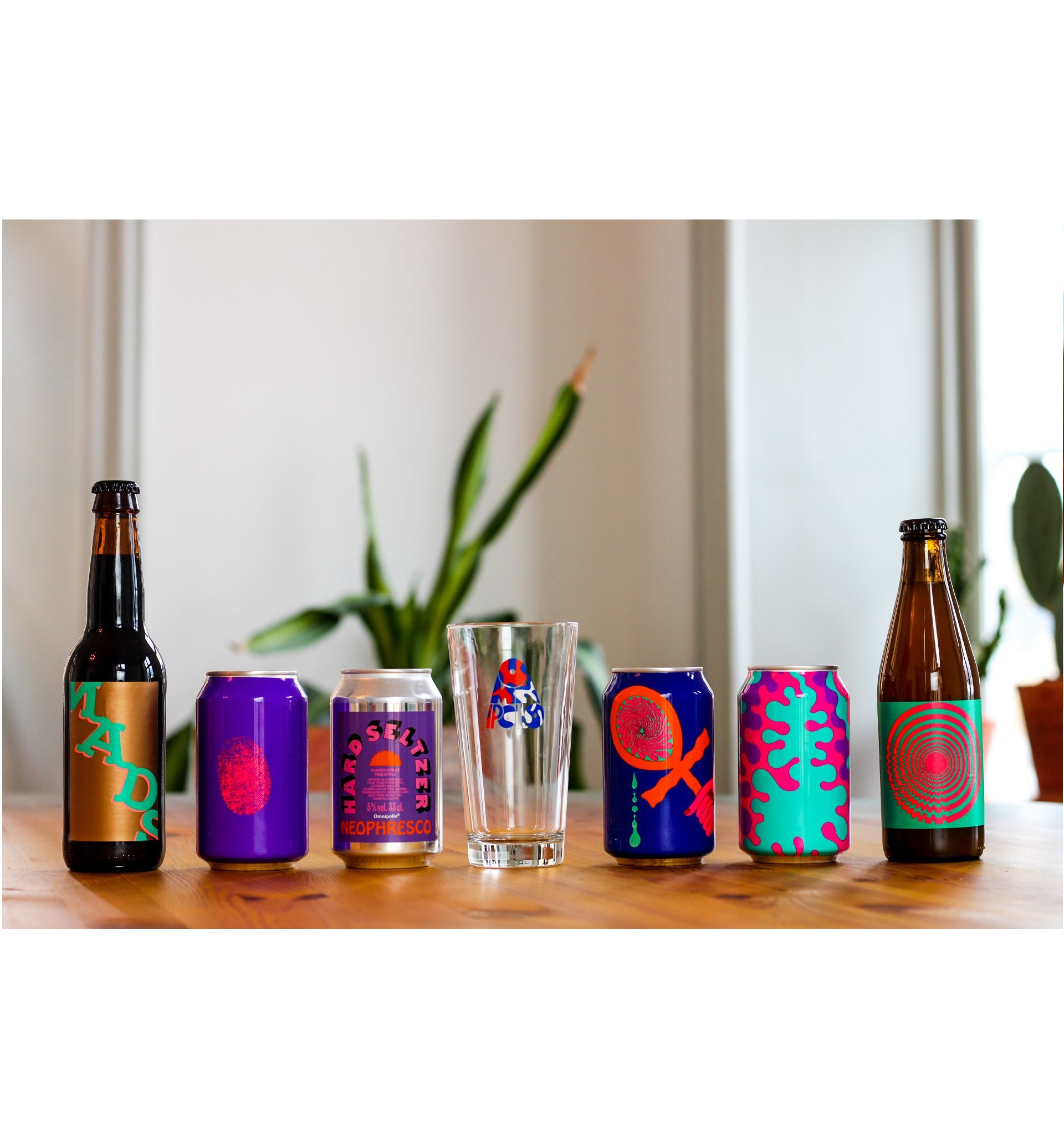 Omnipollo Live from the Church of Omnipollo Tasting Case & Glass