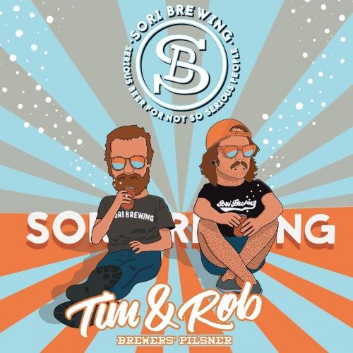 Sori Brewing | Tim & Rob Brewers | Pilsner 5% 440ml