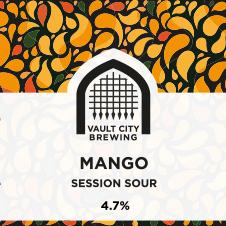 ON TAP Vault City | Mango Session Sour | Modern Sour 4.5% 1 Litre
