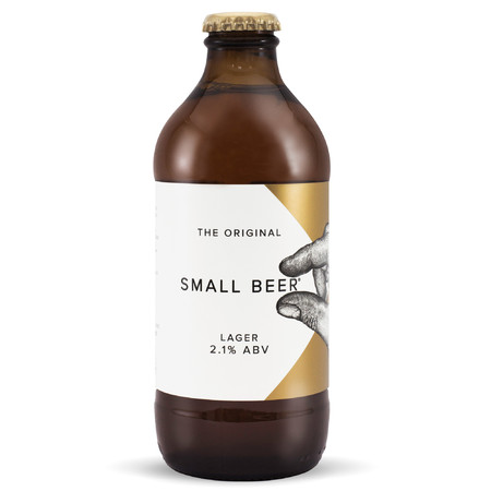 Small Beer Brew Co |  Small Beer Lager | 2.1% 350ml