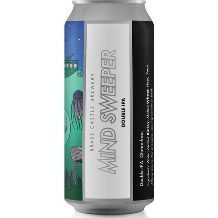 Brass Castle |  Mind Sweeper | DIPA Gluten Free 10% 440ml