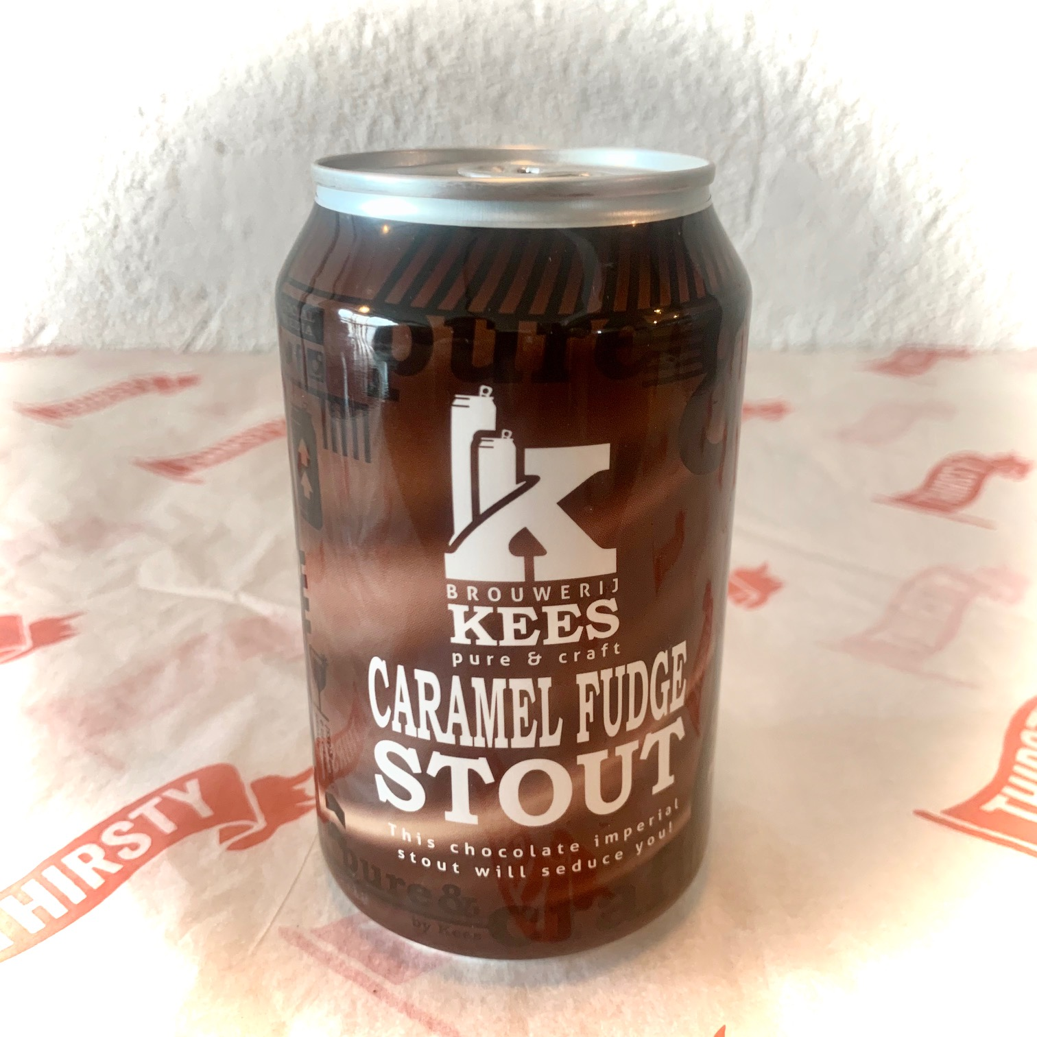 Kees | Caramel Fudge Stout | Imperial Stout 11.5% 330ml
