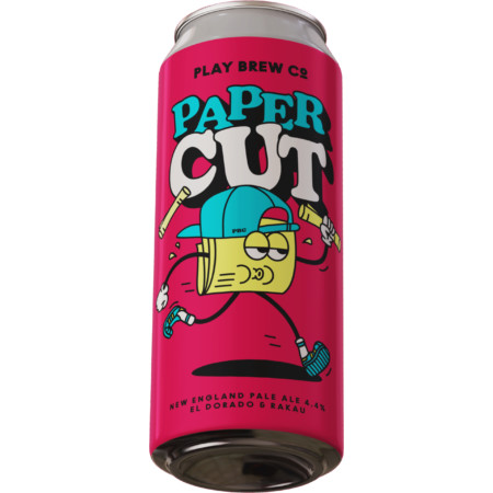 Play Brew   Paper Cut   Pale 4.4% 440ml