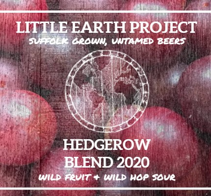 Little Earth Project   Hedgerow Blend 2020   Foraged Fruits & Wild Hop Sour 4.9% 375ml