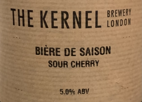 The Kernel | Bière De Saison Sour Cherry | Cherry Sour 5% 330ml