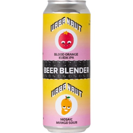 Urbanaut Beer Blender | Mosaic Mango Sour & Blood Orange IPA | 2 x 250ml can