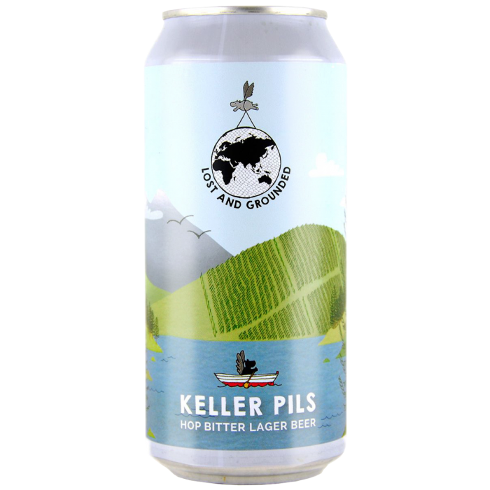 Lost & Grounded | Keller Pils | Hop Bitter Lagerbier 4.8% 440ml