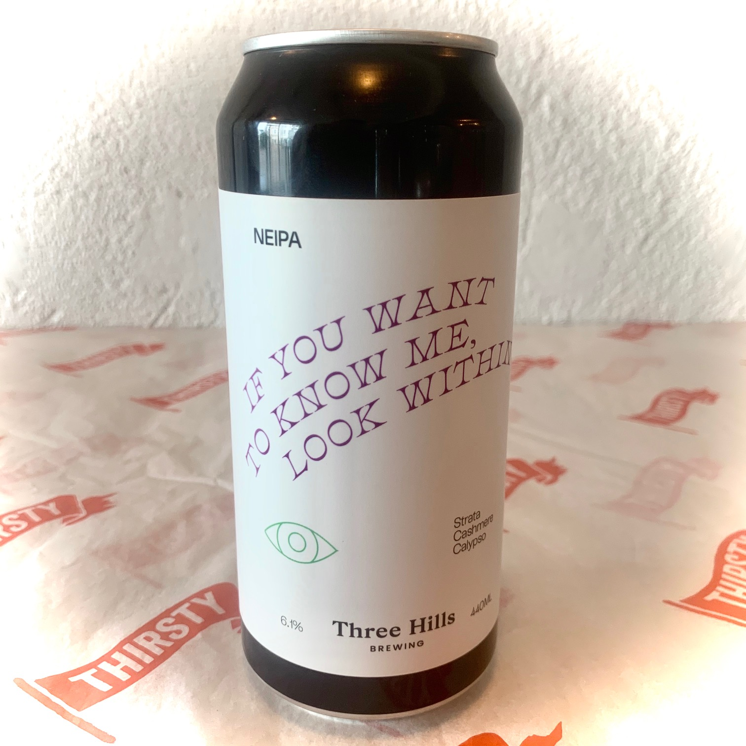Three Hills | If You Want To Know Me, Look Within | NEIPA 6.1% 440ml
