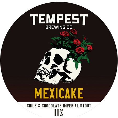 On Tap | Tempest | Mexicake | Chocolate, Chipotle Chilli  & Vanilla Imperial Stout x 1 Litre