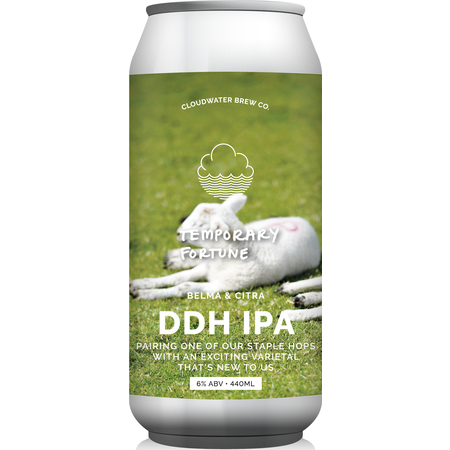 Cloudwater | Temporary Fortune | DDH IPA 6% 440ml