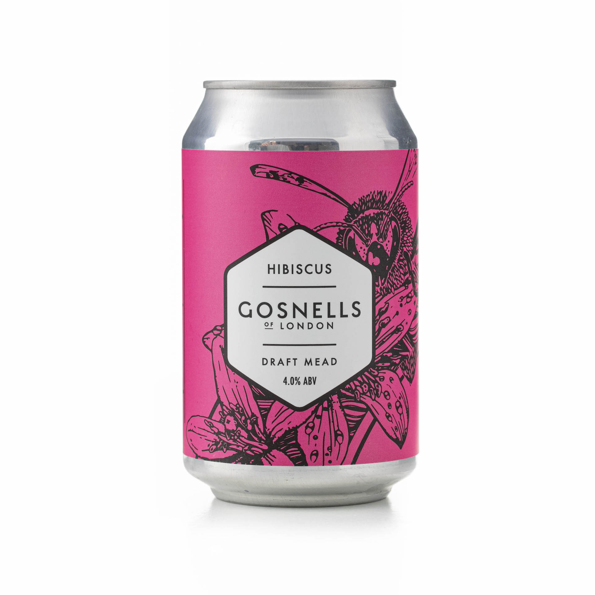 Gosnell's Mead   Hibiscus Mead 4% 330ml